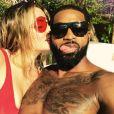 Khloé Kardashian et Tristan Thompson sur une photo publiée sur Instagram le 6 août 2017