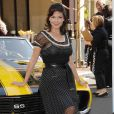 "Laura Harring durant le lancement de ""Rally for Kids with Cancer"". 31/03/09"