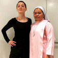 Rose McGowan. Avril 2018.