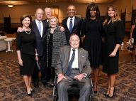 Obsèques de Barbara Bush : Son clan soutenu par les Obama et Melania Trump