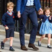 Royal baby: George et Charlotte de Cambridge arrivent pour voir leur petit frère