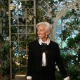 Christine Lagarde - Les invités arrivent au dîner en l'honneur du Président de la République Emmanuel Macron et de la première dame Brigitte Macron (Trogneux) à la Maison Blanche à Washington, le 24 avril 2018. © Stéphane Lemouton/Bestimage