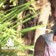 """Nathalie dans l'édition All Stars """"Koh-Lanta : Le combat des héros"""" (TF1), épisode diffusé vendredi 27 avril 2018."""