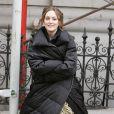 Leighton Meester joue la reine des pestes : Blair Waldorf. Même avec une doudoune elle est trop mignone !