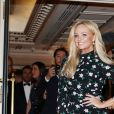"Emma Bunton arrive à la 9ème édition du ""Global Gift Gala"" à l'hôtel Four Seasons George V à Paris, le 25 avril 2018. © Denis Guignebourg/Bestimage"