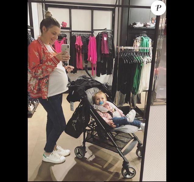 Alexia Mori et sa fille Louise, Instagram, 30 avril 2018