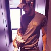 Enrique Iglesias : Craquante photo avec un de ses jumeaux