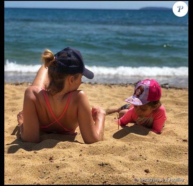 Sylvie Tellier et sa fille Margaux. Photo postée sur Instagram le 2 mai 2018