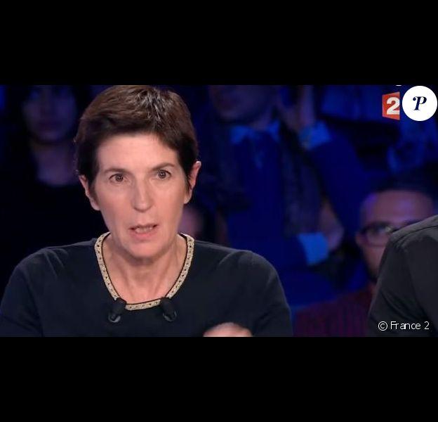 """Christine Angot, """"On n''est pas couché"""", France 2, samedi 30 septembre 2017"""