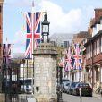 La ville de Windsor se prépare à accueillir le mariage du Prince Harry et de Meghan Markle le 3 mai 2018.