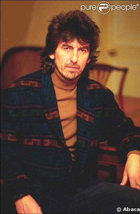 George Harrison dans les années 80