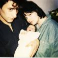 Maurane, son ancien époux Pablo et Lou à l'âge de 3 mois - Instagram, 4 avril 2014
