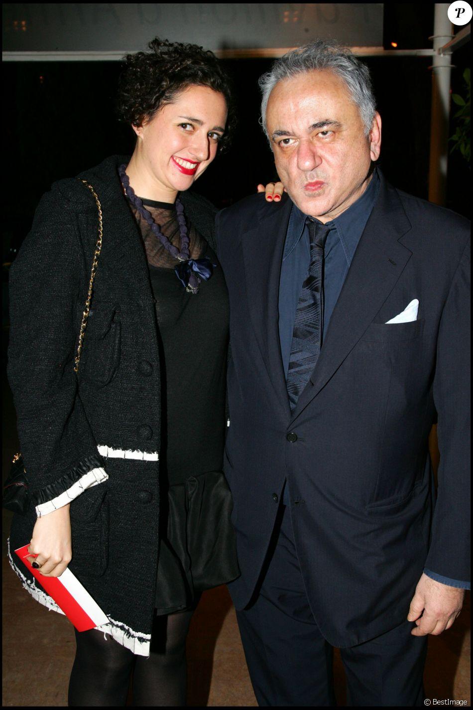 Hubert Boukobza et sa fille à Paris en 2007