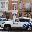 Illustrations devant la maison de Maurane décédée dans la soirée du 7 mai, à l'âge de 57 ans, dans la commune de Schaerbeek, à Bruxelles en Belgique le 8 mai 2018.