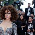 Kangana Ranaut (bijoux De Grisogono) - Montée des marches du film «Les Eternels» lors du 71ème Festival International du Film de Cannes. Le 11 mai 2018 © Borde-Jacovides-Moreau/Bestimage