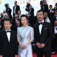 Zhangke Jia, Zhao Tao, Fan Liao - Montée des marches du film «Les Eternels» lors du 71ème Festival International du Film de Cannes. Le 11 mai 2018 © Borde-Jacovides-Moreau/Bestimage