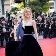 """Eva Herzigova - Montée des marches du film """" Les Eternels """" lors du 71ème Festival International du Film de Cannes. Le 11 mai 2018 © Borde-Jacovides-Moreau/Bestimage"""