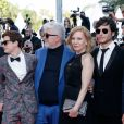 Sebastian Ortega, Lorenzo Ferro, Pedro Almodovar, Cecilia Roth, Luis Ortega, Chino Darin - Montée des marches du film « Les Eternels » lors du 71ème Festival International du Film de Cannes. Le 11 mai 2018 © Borde-Jacovides-Moreau/Bestimage