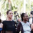 Vanessa Filho et Marion Cotillard (Robe Guy Laroche) - Montée des marches du film « Les Filles du Soleil » lors du 71ème Festival International du Film de Cannes. Le 12 mai 2018 © Borde-Jacovides-Moreau/Bestimage
