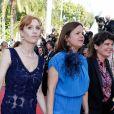 Lolita Chammah - Montée des marches du film «Les Filles du Soleil» lors du 71ème Festival International du Film de Cannes. Le 12 mai 2018 © Borde-Jacovides-Moreau/Bestimage