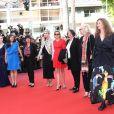 Lolita Chammah, Melita Toscan du Plantier - Montée des marches du film «Les Filles du Soleil» lors du 71ème Festival International du Film de Cannes. Le 12 mai 2018 © Borde-Jacovides-Moreau/Bestimage