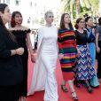 Cécile Cassel - Montée des marches du film « Les Filles du Soleil » lors du 71ème Festival International du Film de Cannes. Le 12 mai 2018 © Borde-Jacovides-Moreau/Bestimage