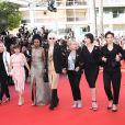 Ariane Ascaride, Tonie Marshall, Rosalie Varda - Montée des marches du film «Les Filles du Soleil» lors du 71ème Festival International du Film de Cannes. Le 12 mai 2018 © Borde-Jacovides-Moreau/Bestimage