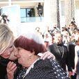 Cate Blanchett, Agnès Varda - Montée des marches du film «Les Filles du Soleil» lors du 71ème Festival International du Film de Cannes. Le 12 mai 2018 © Borde-Jacovides-Moreau/Bestimage