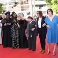 Kristen Stewart, Léa Seydoux, Khadja Nin, Ava Duvernay, Cate Blanchett, Agnès Varda, Céline Sciamma - Montée des marches du film «Les Filles du Soleil» lors du 71ème Festival International du Film de Cannes. Le 12 mai 2018 © Borde-Jacovides-Moreau/Bestimage