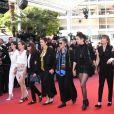 Marie Amachoukeli - Montée des marches du film «Les Filles du Soleil» lors du 71ème Festival International du Film de Cannes. Le 12 mai 2018 © Borde-Jacovides-Moreau/Bestimage