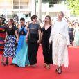 Cécile Cassel - Montée des marches du film «Les Filles du Soleil» lors du 71ème Festival International du Film de Cannes. Le 12 mai 2018 © Borde-Jacovides-Moreau/Bestimage