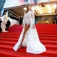"""Izabel Goulart - Montée des marches du film """" Le Grand Bain """" lors du 71ème Festival International du Film de Cannes. Le 13 mai 2018 © Borde-Jacovides-Moreau/Bestimage"""
