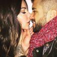 Alain et Laura complices sur Instagram, 21 décembre 2017