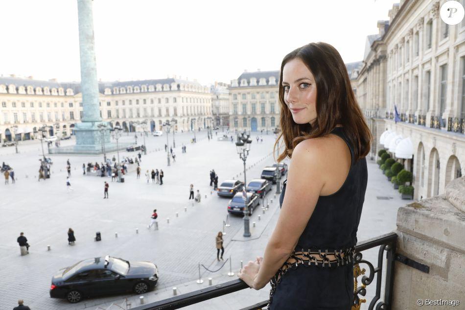 Kaya Scodelario - Soirée de lancement de la ligne de maquillage Karl Lagerfeld + ModelCo à l'hôtel d'Evreux à Paris le 15 mai 2018. © Marc Ausset-Lacroix/Bestimage