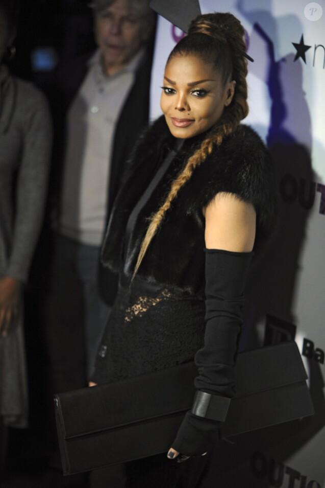 Janet Jackson à la soirée Out100 à New York le 9 novembre 2017 à New York. © Future-Image via ZUMA Press / Bestimage