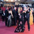 Alessandra Lo Savio et Terry Gilliam - Montée des marches du film «L'Homme qui tua Don Quichotte» lors de la cérémonie de clôture du 71ème Festival International du Film de Cannes. Le 19 mai 2018 © Giancarlo Gorassini / Bestimage