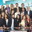 """Cyril Hanouna et ses chroniqueurs dans """"Touche pas à mon poste""""."""