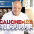 """Philippe Etchebest, star de l'émission """"Cauchemar en cuisine"""" (M6)."""