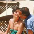 Yves et Véornique Mourousi au Festival de Cannes en 1986.
