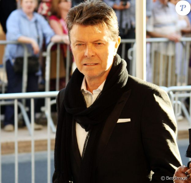 David Bowie aux CFDA Fashion Awards, à New York le 7 juin 2010.