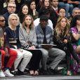 Anna Wintour, Pharrell Williams, Cara Delevingne, Lily-Rose Depp, Skepta et Rita Ora à Paris. Le 7 mars 2017.