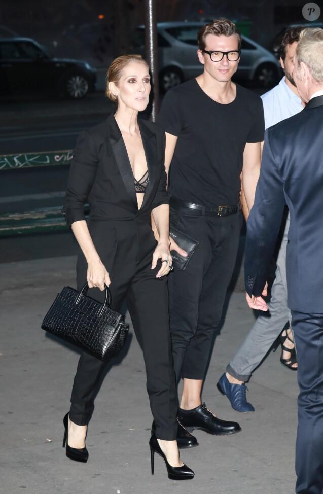 Céline Dion et Pepe Munoz  Retrouvailles à Las Vegas, René