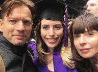Ewan McGregor réuni avec sa femme, malgré la rupture, pour leur fille Clara