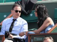 Éric Besson et sa femme Jamila : Un ex-ministre amoureux à Roland-Garros