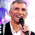 """Karen Brunon quitte """"N'oubliez pas les paroles"""" sur France 2, le 29 mai 2018"""