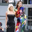 Gigi Hadid et Donatella Versace aux CFDA Awards 2018 au Brooklyn Museum à New York, le 4 juin 2018.