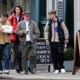 Exclusif - Rocco Ritchie est allé déjeuner avec ses amis à Londres, le 13 septembre 2017.
