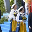 Christopher O'Neill, la princesse Madeleine, la princesse Sofia, le prince Carl Philip de Suède - La famille royale de Suède assiste à la fête nationale dans les jardins du musée Skansen à Stockholm le 6 juin 2018.  Sweden's National Day celebrations at Skansen, Stockholm, Sweden 2018-06-0606/06/2018 - Stockholm