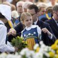 La princesse Estelle de Suède, le prince Daniel - La famille royale de Suède assiste à la fête nationale dans les jardins du musée Skansen à Stockholm le 6 juin 2018.  Sweden's National Day celebrations at Skansen, Stockholm, Sweden 2018-06-0606/06/2018 - Stockholm