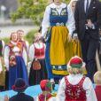 La famille royale de Suède - ici la princesse Sofia et le prince Carl Philip - a célébré le 6 juin 2018 la Fête nationale.